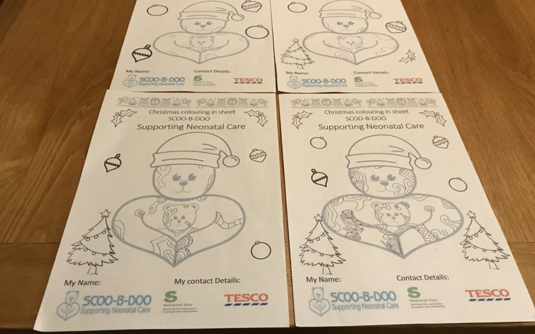 Scoo-B-Doo Festive Christmas Colouring Competition